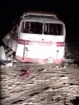 Под Горловкой на мине подорвался пассажирский автобус
