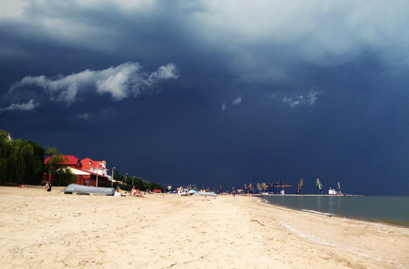 Город мариуполь фото пляжи