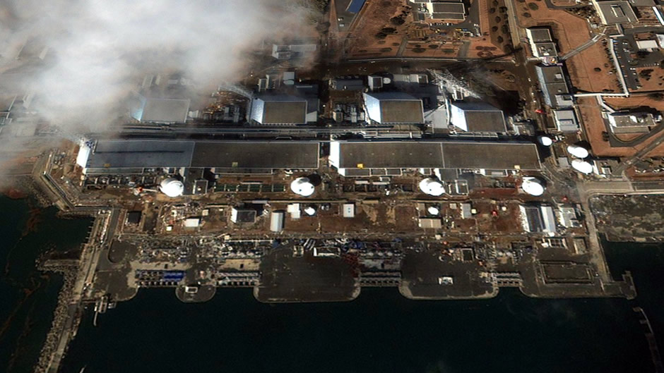 Fukushima nuclear plant (after disaster)